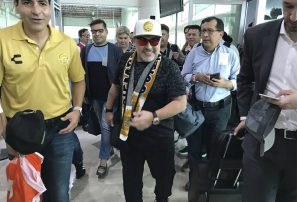 Maradona dirigirá a club en el centro del narco en México