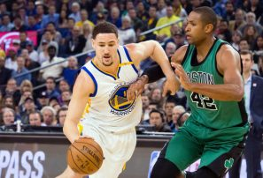 Klay Thompson considera a los Celtics la mayor amenaza para los Warriors