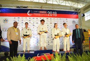 Estefania Soriano y Wander Mateo, oro en Panam Open de Judo Tokio 2020
