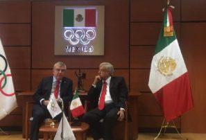 Thomas Bach prometió a AMLO respaldar béisbol en Olímpicos