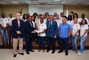COD presenta delegación irá a Juegos Olímpicos de la Juventud