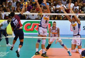 Italia derrota a sexteto masculino RD en Mundial de Voleibol