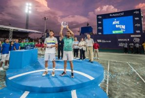 Estrella podrá defender su título de campeón en Challenger de Santo Domingo