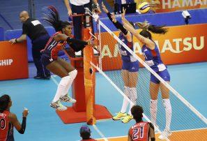 Las Reinas del Caribe cayeron 3-0 ante Serbia en inicio Mundial de Voleibol Femenino