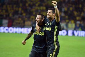 Cristiano le da el triunfo a la Juventus