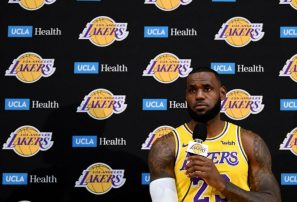 LeBron James admite que Lakers no están al nivel de Warriors