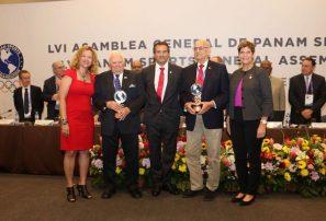 Panam Sports honra a Steve Stoute y a Michael Fernell