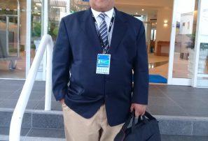 Franklin de la Cruz, presidente Fedotri, participa en Congreso ITU
