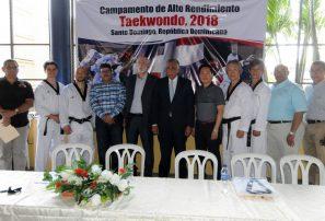 Camacho asegura campamento taekwondo será de gran provecho