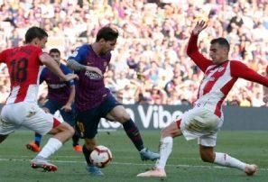 Messi no puede devolver al Barça a la victoria y logra empate ante el Athletic
