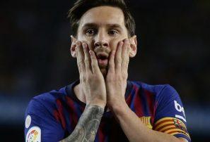 Messi y el Barcelona empatan 2-2 con el Girona