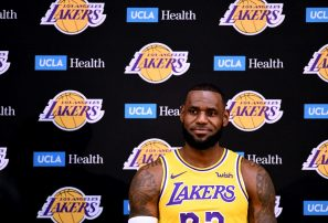 LeBron James describe a sus compañeros en los Lakers