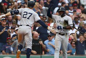 Yankees rompen récord de jonrones en victoria ante los Medias Rojas
