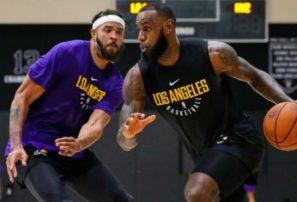 Luke Walton adelanta que Lakers se apoyarán en LeBron en momentos claves