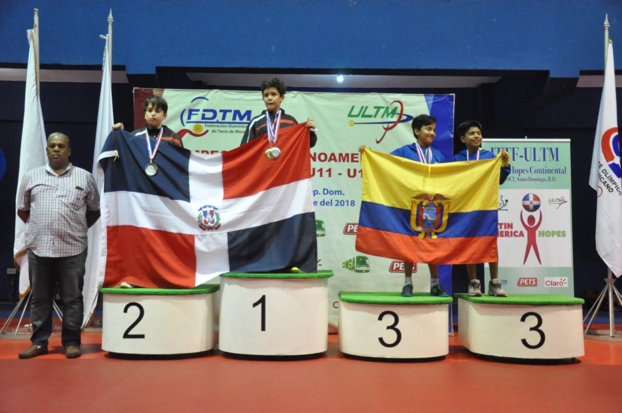 RD queda cuarto Latinoamericano tenis mesa; Cabrera sierra con oro