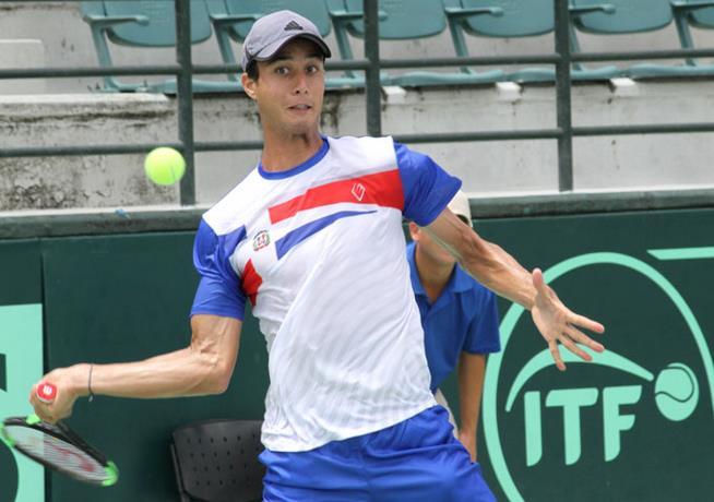 Roberto Cid será el primer tenista de RD en accionar en el Santo Domingo Open