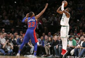 Horford marcó 11 puntos en victoria de los Celtics
