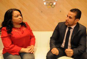 Maritza Ortiz y Orlando Cruz, los árbitros RD en Juegos Juventud