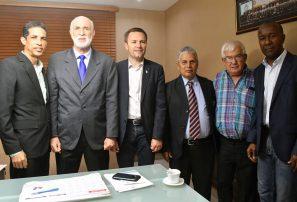 Presidente UCI gira visita de cortesía al Comité Olímpico Dominicano