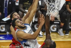 Karl-Anthony Towns anotó 14 y atrapó ocho rebotes