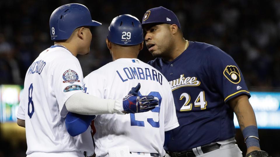 Manny Machado fue sancionado por MLB tras polémica jugada con Jesús Aguilar