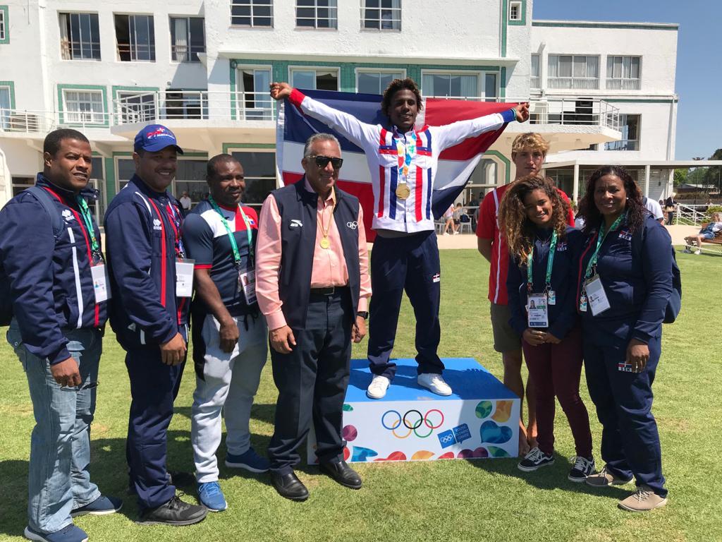 Deury Corniel conquista el oro para RD en Olímpicos de la Juventud