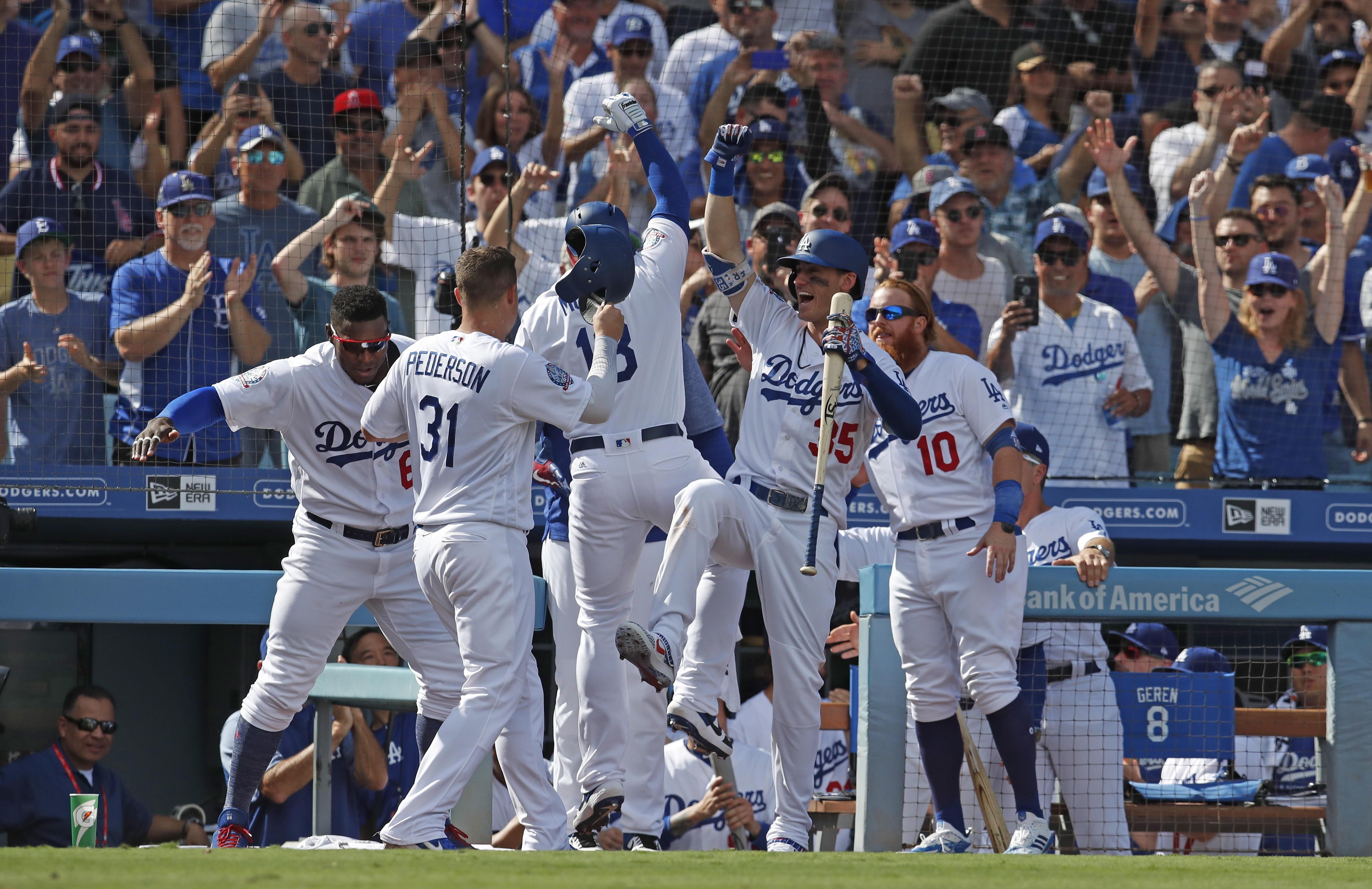 Dodgers vencen a Rockies y se llevan el Oeste de la Liga Nacional