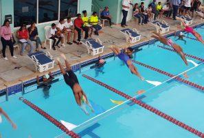 Inauguran campeonato de Natación del Distrito Nacional