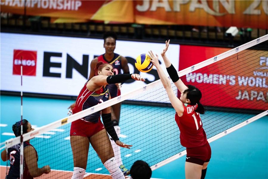 Sexteto RD pierde disputado partido ante Japón en Mundial Voleibol