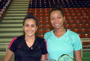 Nairobi y Bermary ganan medalla de bronce en dobles Open Superior de Bádminton
