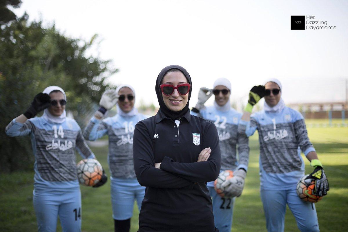 Katayoun Khosrowyar, la mujer que está transformando el fútbol femenino en Irán