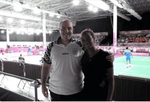 La atleta RD adoptada por argentinos en Juegos Olímpicos Juventud