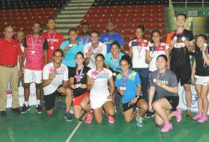 Brasil dominó el Torneo Internacional de Bádminton Santo Domingo Open Superior