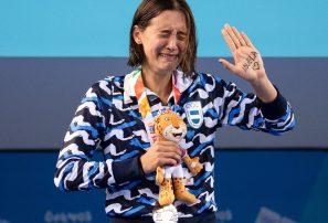 Delfina Pignatiello: Una medalla en honor a su abuela fallecida