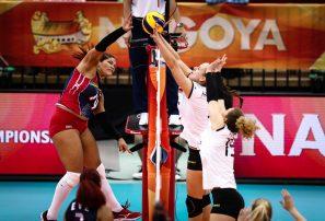 RD vence a Alemania y se despide con victoria del Mundial de Voleibol Femenino
