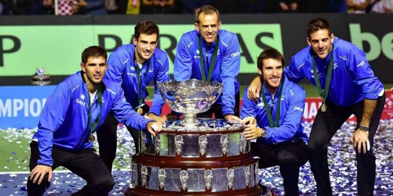 Confirmaron los últimos cruces del Grupo Mundial de la Copa Davis 2019