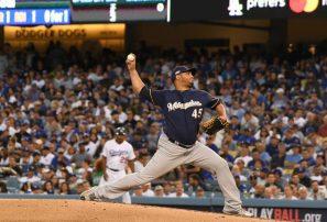 Cerveceros blanquean a Dodgers y toman ventaja en la Serie de Campeonato de LN