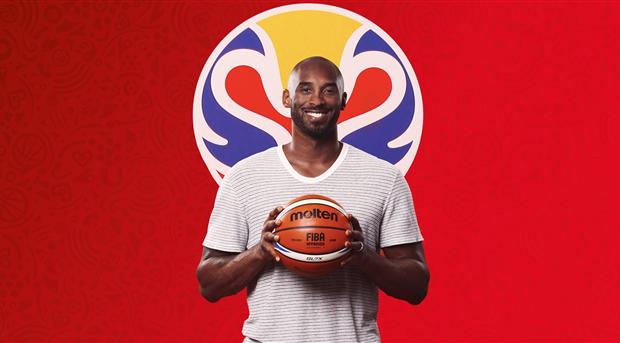 Kobe Bryant es revelado como embajador de la Copa del Mundo de Baloncesto 2019