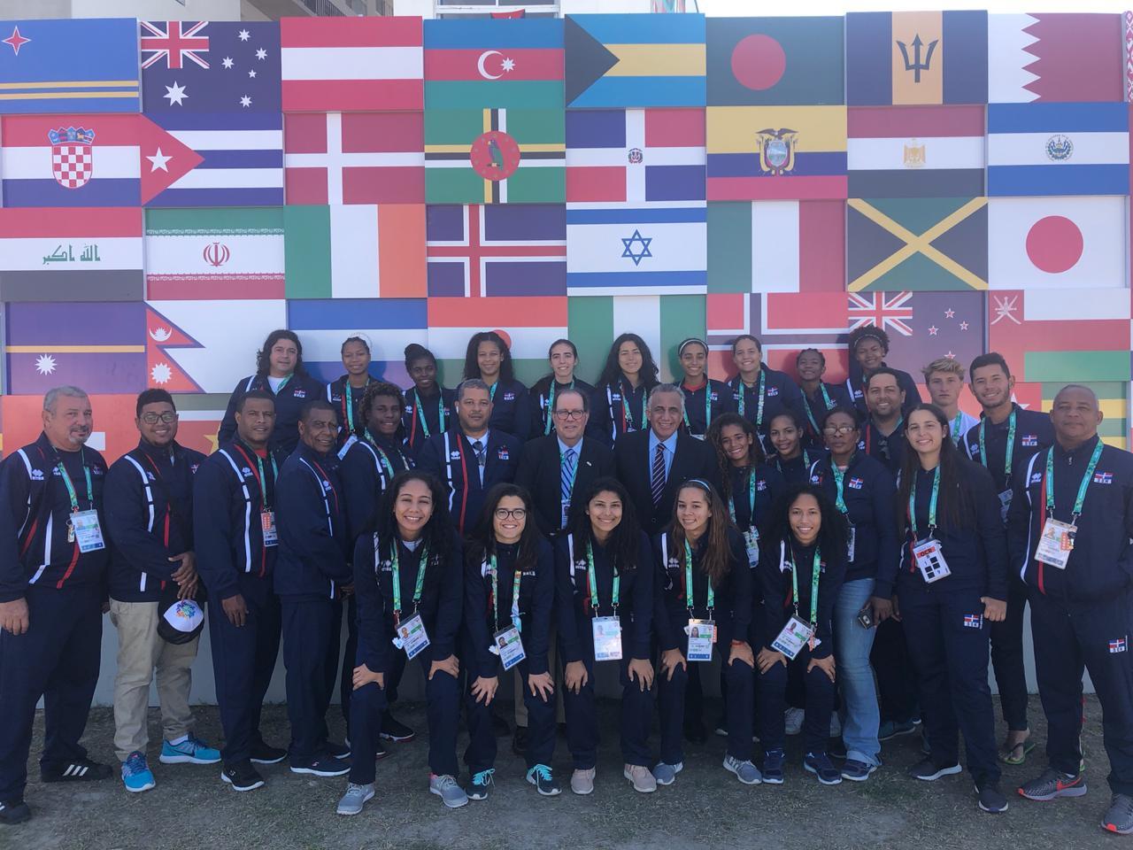 CRESO felicita trabajo delegación dominicana en los Juegos Olímpicos de la Juventud