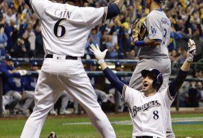 Cerveceros le pegan a los Dodgers y obligan juego de vida o muerte en Serie de Campeonato