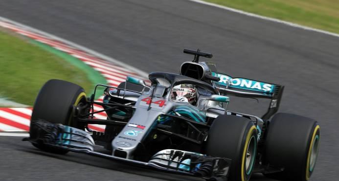 Lewis Hamilton saldrá primero y Vettel octavo en GP de Japòn