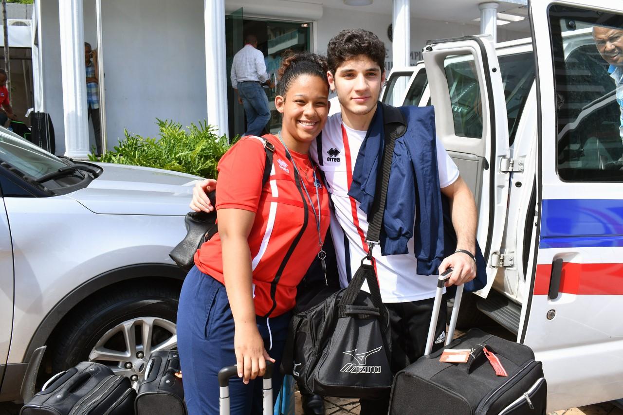 Judocas Tornal y Omaria, decididos a exhibir talentos Juegos Juventud
