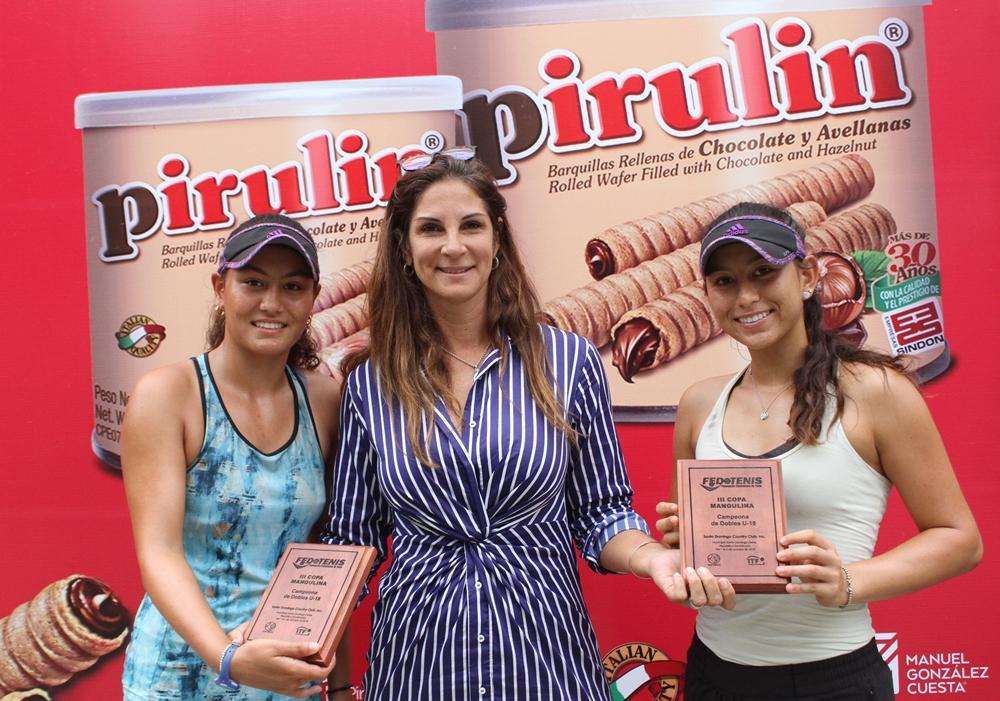Ana Zamburek concluye como finalista de dobles en la Copa Mangulina