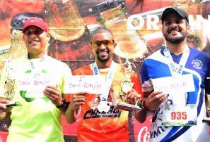 Mejía, Padilla, Mercedes, Ureña y González brillan en maratón