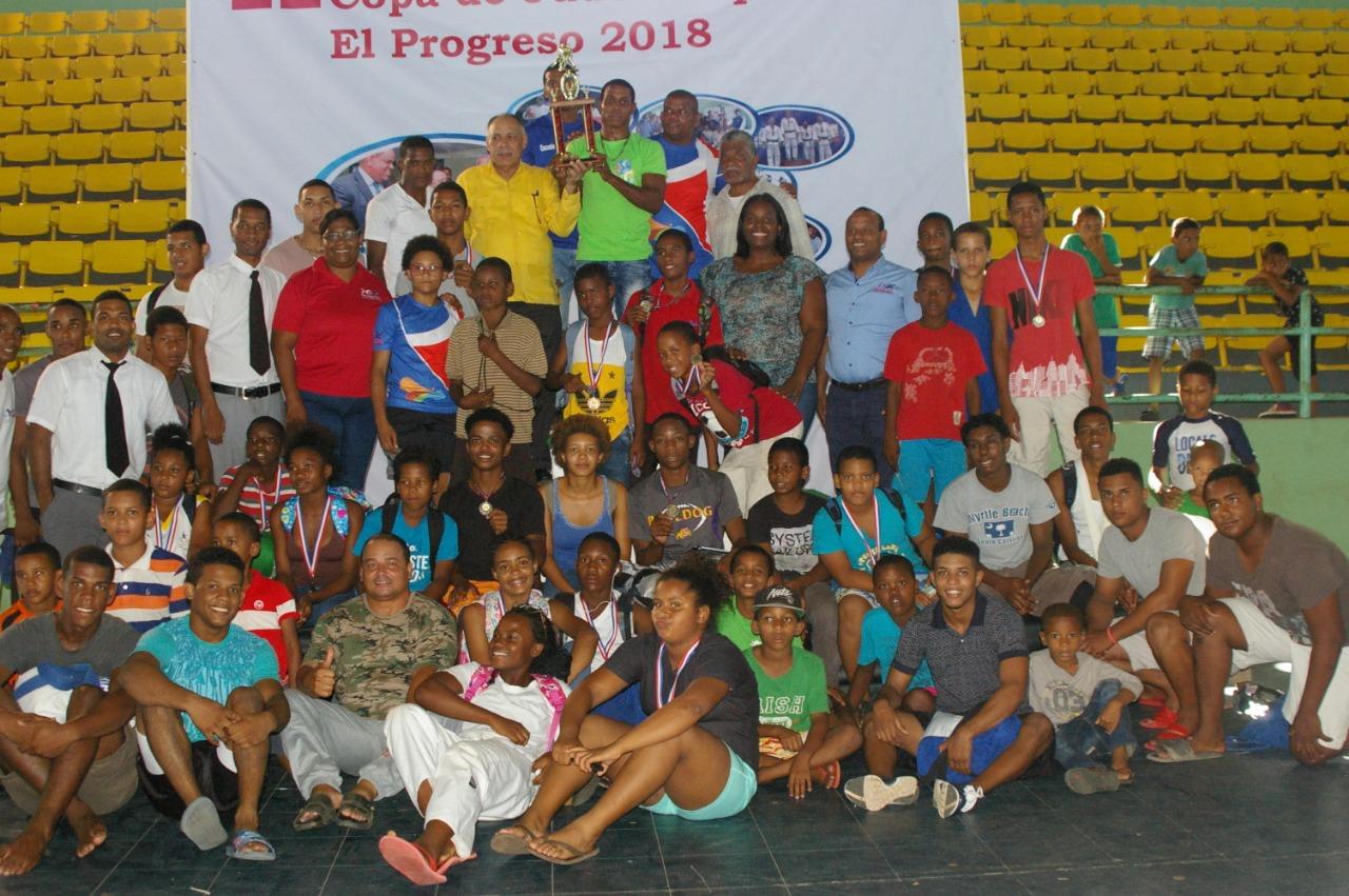 Bayaguana ocupa primer lugar II Copa de Judo Cooperativa El Progreso