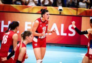 Serbia vence a Italia y se corona campeón en el Mundial de Voleibol Femenino