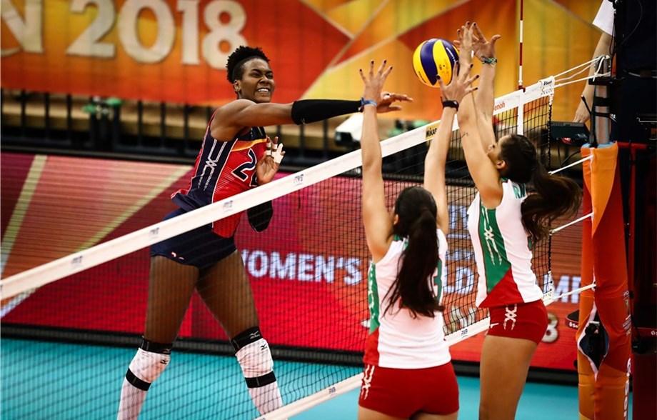 Dominicana derrota 3-0 a México en el Mundial Voleibol