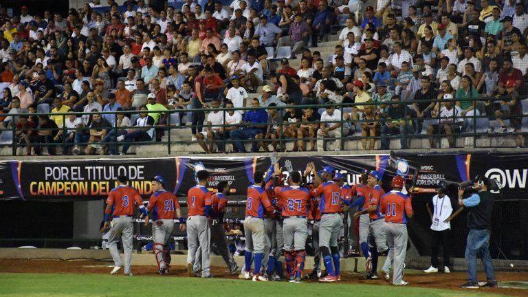 RD venció a Puerto Rico e inicia con victoria la Copa Mundial de Béisbol U-23