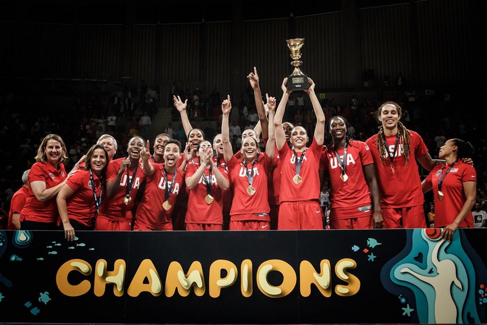 Estados Unidos se colgó el oro en Mundial de Baloncesto Femenino