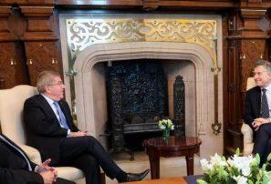 Macri recibe a Bach a cinco días apertura Juegos de la Juventud